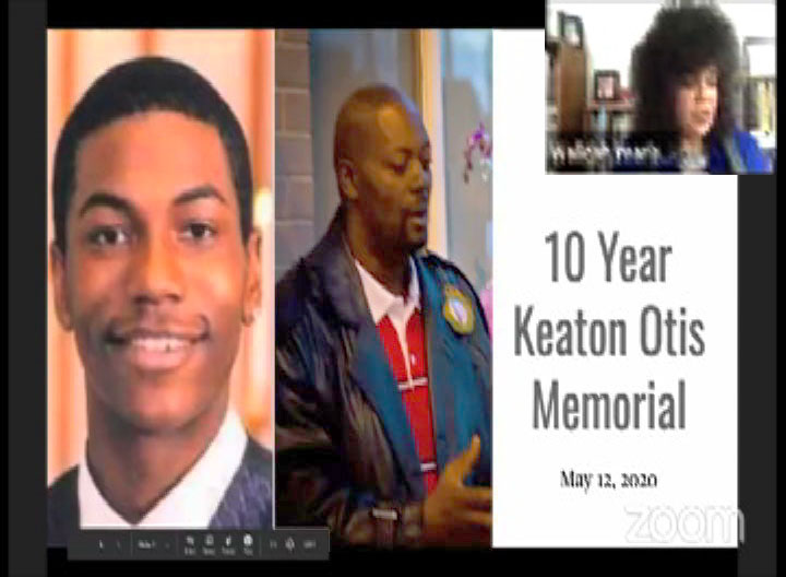 [10 Year Keaton Otis Memorial still]