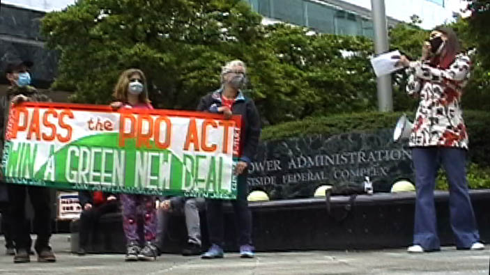 [Protest for the PRO Act]