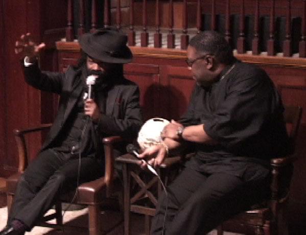 [Rev. Sekou and Pastor Mondaine]